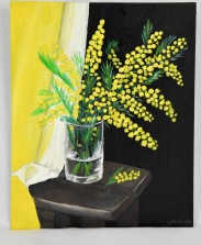 Mimoza 11x14 canvas panel