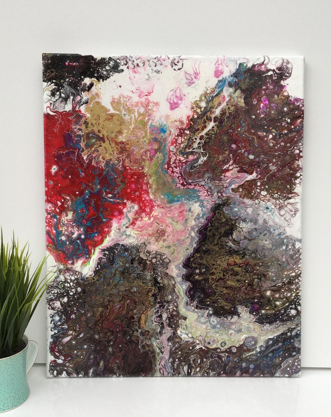 Granite full of color - $95 (16x20)
