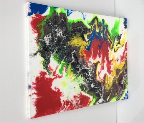 "The War of Colors - $95 (16x20""). Originally $112"